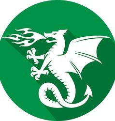 Dragon Icon vector image vector image
