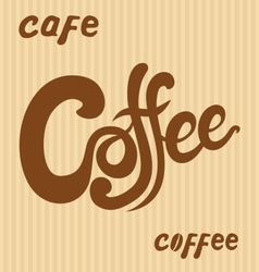 Hand Drawn Coffee Signs vector image vector image