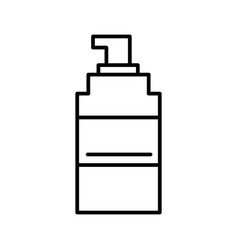 spray line icon sign on vector image vector image