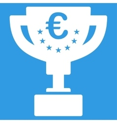 Euro Award Cup Icon vector image
