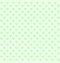Green checkered pattern with hearts seamless vector