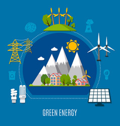 Green energy composition vector