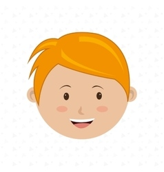 happy child design vector image
