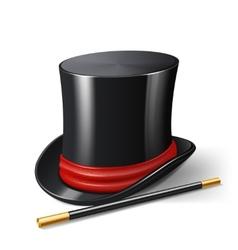 Magician Hat Realistic vector image