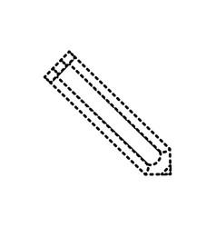 pencil sticker vector image