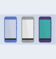 Phone template vector