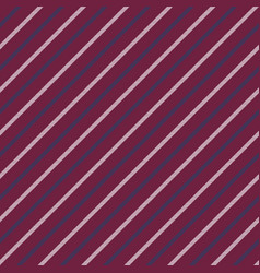 red seamless stripes pattern diagonal texture vector image
