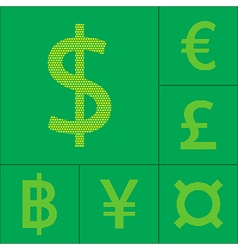 USD currency symbol vector image vector image