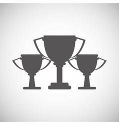 Winner design Success icon Flat vector