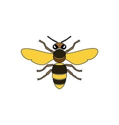 Bee-380x400 vector image vector image