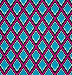 blue mosaic seamless pattern vector image