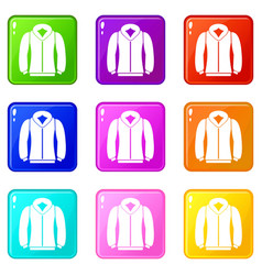 sweatshirt set 9 vector image