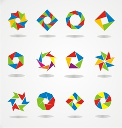 Colorfull Logo Template vector image vector image