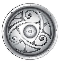 A vikings shield vector image