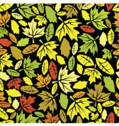 autumn leaf colored seamless vector image vector image