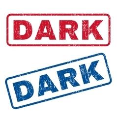 Dark Rubber Stamps vector
