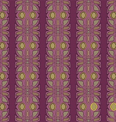 Ethnic pattern design vector