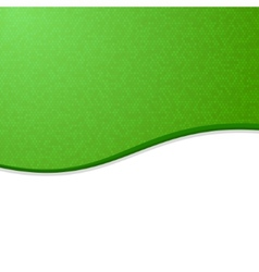 Green and White Waves Blank Abstract Background vector