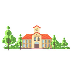 Isolated back to school vector