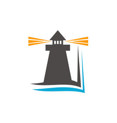 lighthouse education vector image