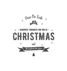Merry Christmas lettering Wishes clipart vector