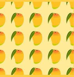 seamless mango pattern vector image