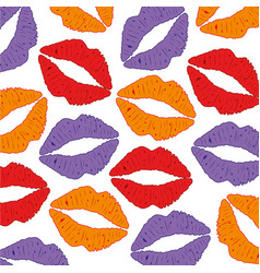 background from feminine lips vector image vector image