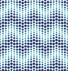 Blue geometrical circle pattern vector