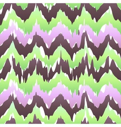 Colorful zigzag geometric seamless pattern in pink vector
