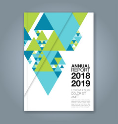 Cover annual report 1138 vector
