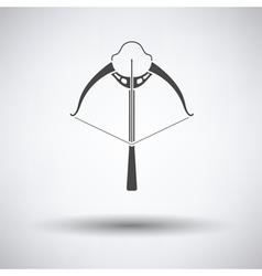 Crossbow icon vector image