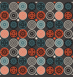 Encrypted symbols seamless pattern vector