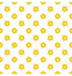 Light summer seamless pattern tiling Fond white vector