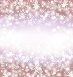 Navidad winter background with snowflakes and copy vector image