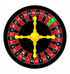 Roulette object vector