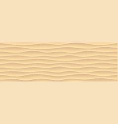 Sea yellow sand seamless pattern vector