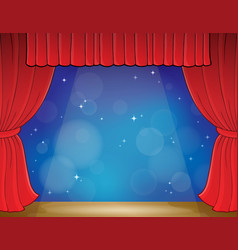 Stage theme image 3 vector