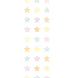 Stars textile textured pastel vertical seamless vector