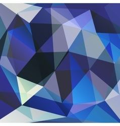 geometric background of triangular polygons vector image