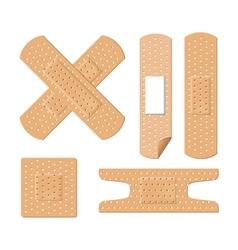 medical bandages vector image vector image