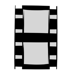 film strip icon cartoon vector image