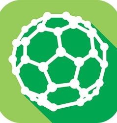Molecular Structures Icon vector image
