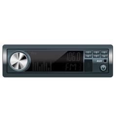 Car audio equipment vector