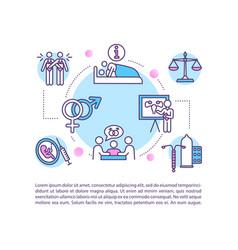 comprehensive sexual education concept icon vector image