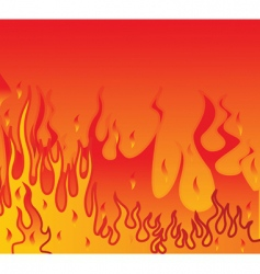 flames background vector image