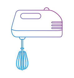 mixer appliance isolated icon vector image