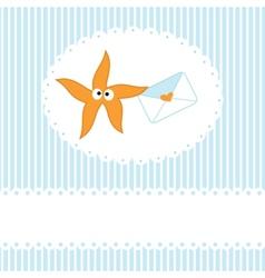 Starfishe icon vector image