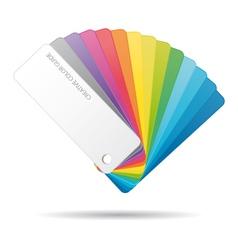 Color guide icon vector image vector image