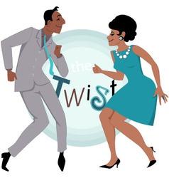 The Twist vector image vector image