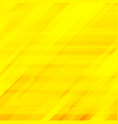 abstract striped diagonal yellow background vector image